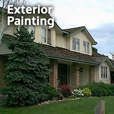 An image of a home exterior used to depict an Exterior Painting Service